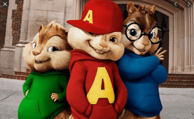 bajki na Netflixie - Alvin i wiewiórki