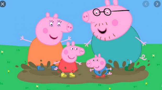 bajki na Netflixie - świnka Peppa