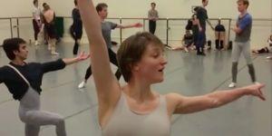 Baletnica w ciąży