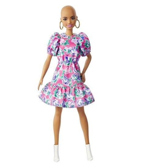 Barbie bez włosów