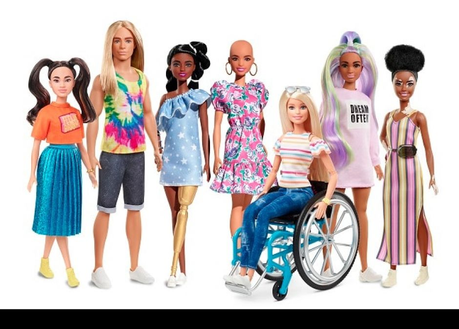Barbie Fashionistas 2020