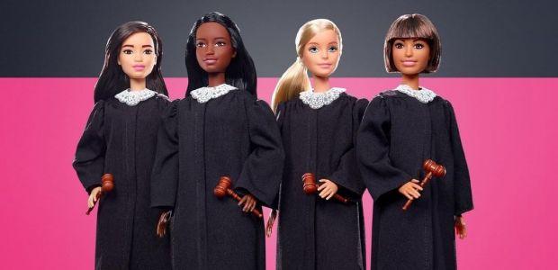 Barbie w togach sędziowskich - nowość od Mattel