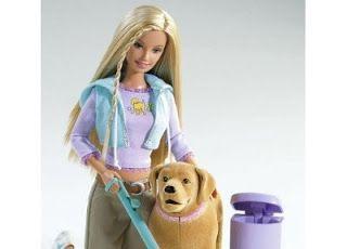 Barbie z psem, dziwne prezenty dla dzieci, najgorsze prezenty świąteczne