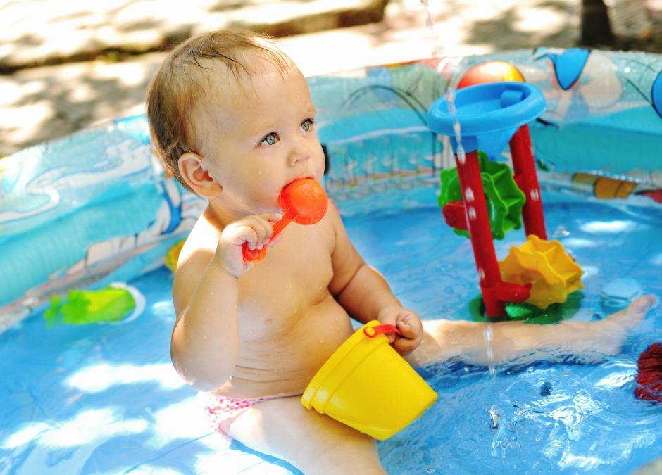 basen dla dzieci do ogrodu
