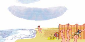 basia, franek i plaża
