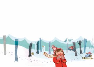 basia, franek i śnieg