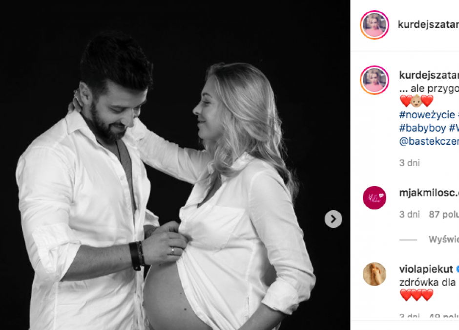 Basia Kurdej-Szatan o oczekiwaniu na narodziny synka