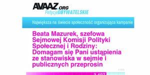 Beata Mazurek, program 500+, samotna matka