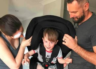 Bezpieczeństwo dziecka w foteliku samochodowym