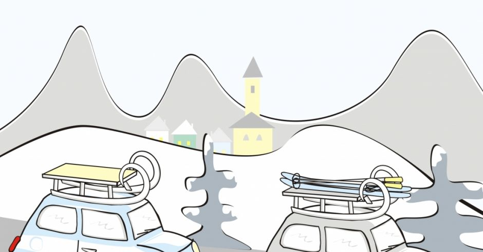 bezpieczna jazda autem zimą