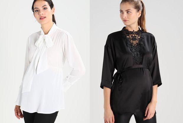 10 ciążowych bluzek, koszul i tunik na święta i sylwestra  IMJT2