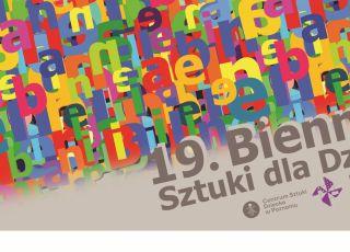 biennale, sztuka dziecka, plakat
