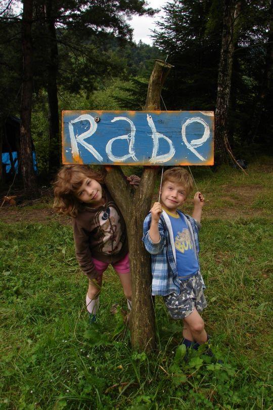 bieszczady atrakcje dla dzieci Rabe