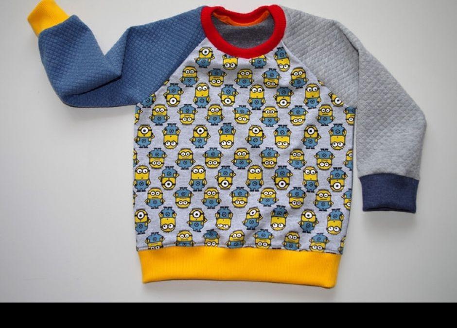 bluza z minionkami dobranoc dawanda.pl 65zł.JPEG