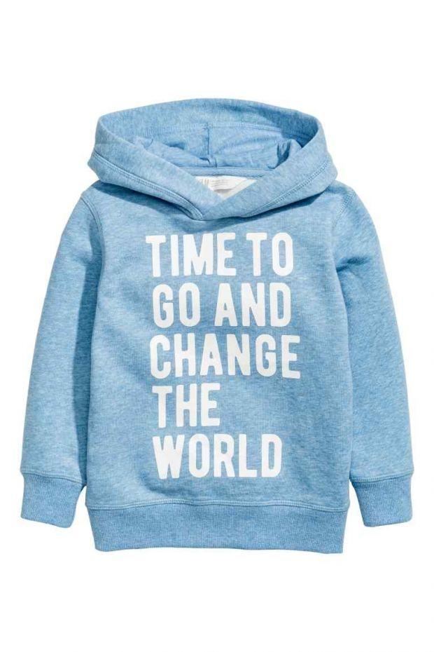 bluza z napisem H&M błękitna dla przedszkolaka 59.90zł.jpg