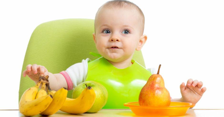 BLW, niemowlę i warzywa