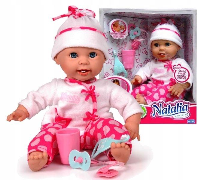 Lalka Natalia z mlecznymi ząbkami