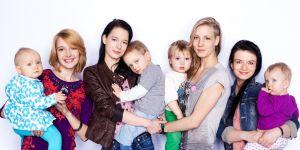bohaterki programu Teen Mom Poland z dziećmi