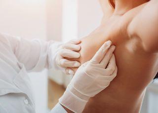 ból piersi, badanie piersi