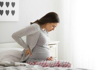 Ból pleców - jedna z ciążowych dolegliwości