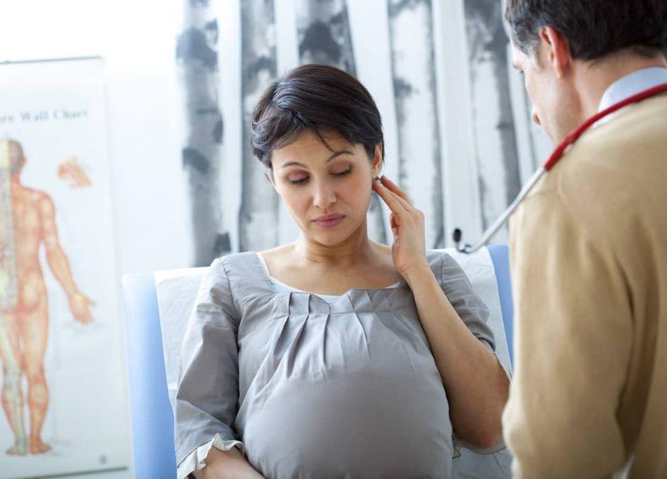ból ucha w ciąży