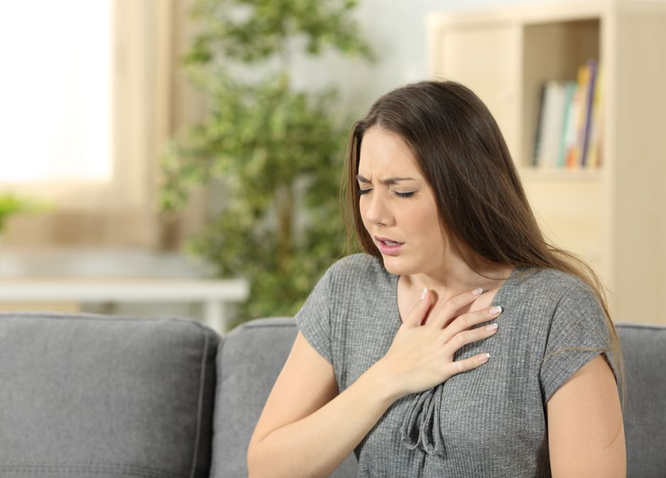 ból w klatce piersiowej w ciąży