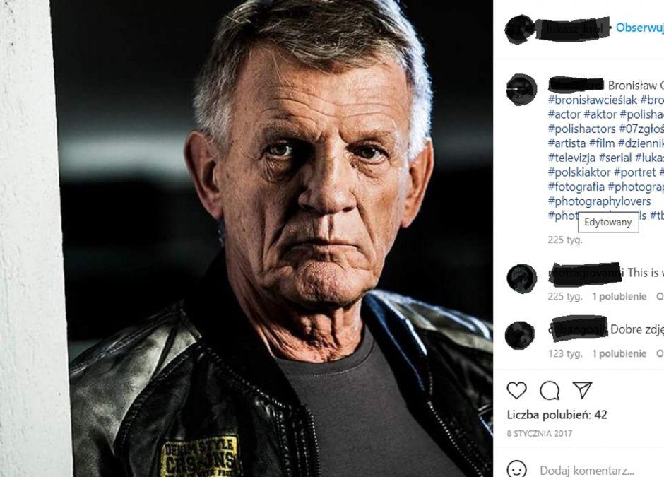 Bronisław Cieślak mówi o ojcostwie