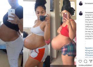 brzuch po trzeciej ciąży