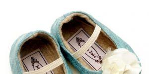 buciki z kwiatkiem, buciki dla niemowląt, buciki dla dzieci