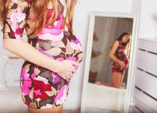 budowa ciała w ciąży, sywletka w ciąży, brzuch w ciąży, wielkość płodu, co ułatwia poród, szybki poród, poród bez bólu, szerokie bidora
