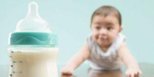 butelka, niemowlę, raczkować