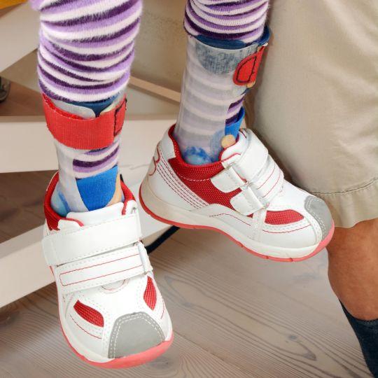 buty ortopedyczne dla dzieci z ortezą