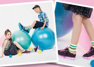 buty z diodami dla dzieci - świecące podeszwy to hit