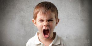 chłopiec, dziecko, krzyk, złość