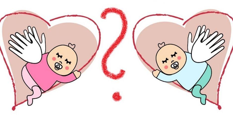 chłopiec, dziewczynka, niemowlę, dziecko, płeć dziecka