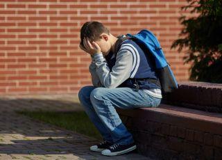 Chłopiec, który był świadkiem samobójstwa