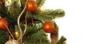 choinka, święta, Boże Narodzenie, bombki