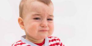 Chore oczy dziecka