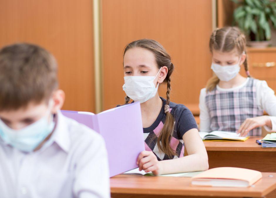 choroba, wirus, dziecko, szkoła