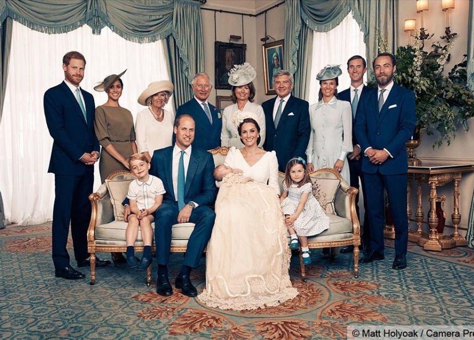 Chrzest księcia Louisa - oficjalne zdjęcie