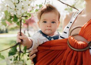 Chusty do noszenia dzieci