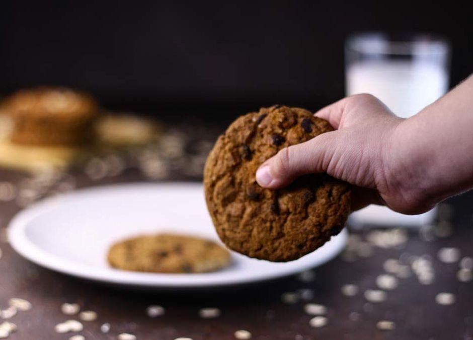 ciasteczka owsiane dla dzieci