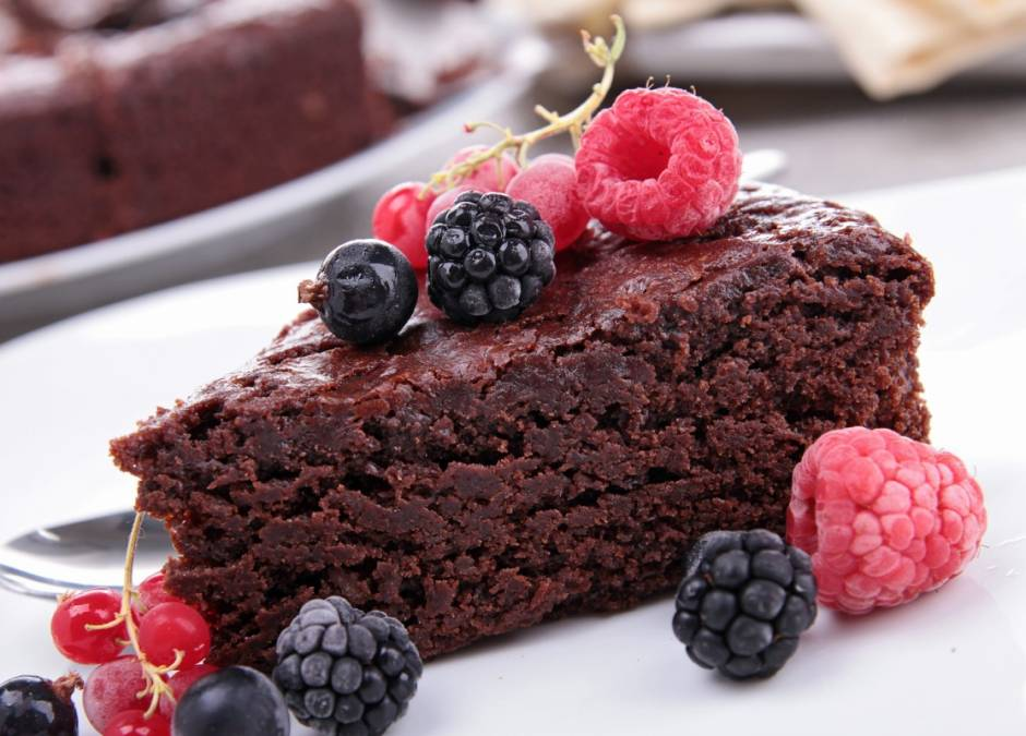 ciasto, czekolada, czekoladowe