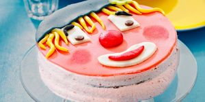 ciasto klown, klown, clown, ciasto, tort