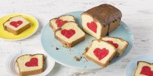 Ciasto z ukrytym sercem - przepis na ciasto