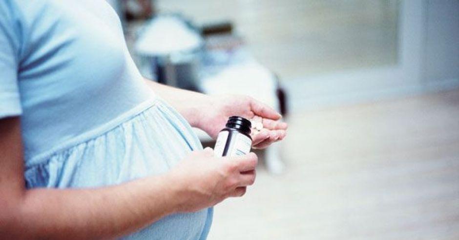 ciąża, brzuszek, leki