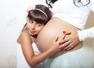 ciąża, dziecko, druga ciąża, kobieta, brzuch