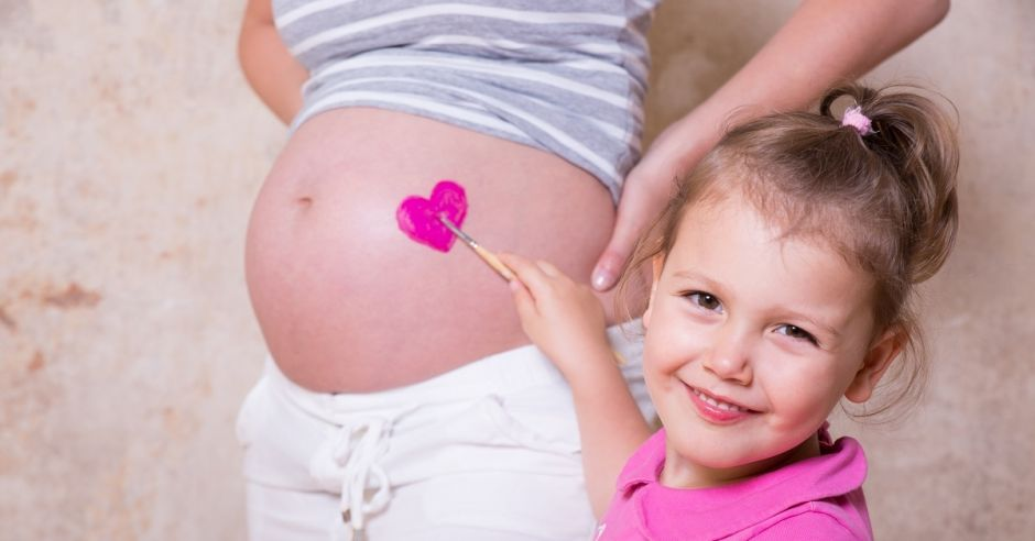 ciąża, dziecko, rodzeństwo, miłość, emocje