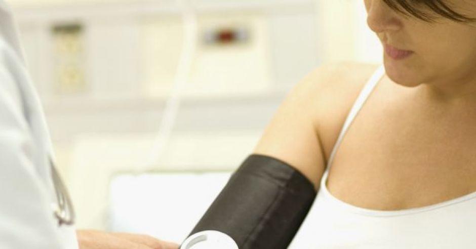ciąża, mama, badanie, lekarz, ciśnienie