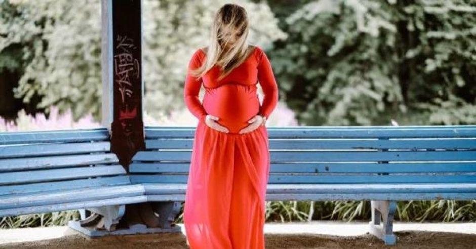 ciąża na zdjęciu